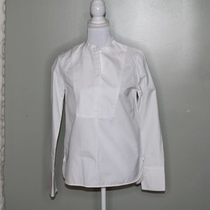 everlane women white cotton shirt SZ 6